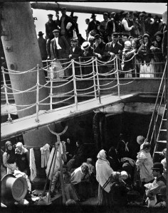 """The Steerage"" -- by Alfred Stieglitz"