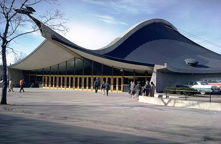 The Ingalls Hockey Rink by Eero Saarinen