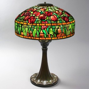 """Tulip Table Lamp"" by Louis Comfort Tiffany"