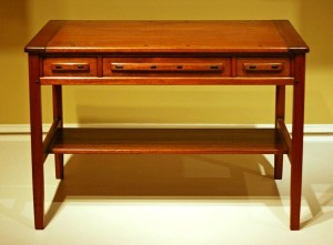Mahogany Libary Table by Charles & Henry Green