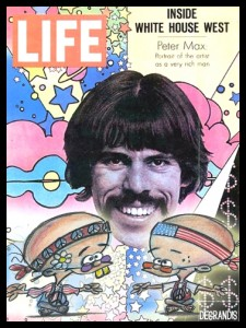 "Pete Max on the cover of ""Life"" magazine"