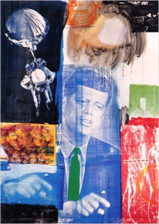 """Retroactive 1, 1961"" by Robert Rauschenberg"
