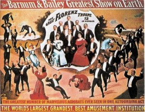 1904 – Barnum & Bailey, The Great Florenz Troupe
