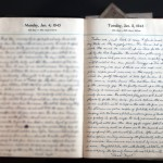 January 5, 1943 Diary page   (click to enlarge)