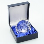 Crystal paperweight with 2009 inaugural seal