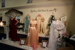 First Ladies' gowns