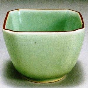 Celadon with iron highlights, 1690-1740