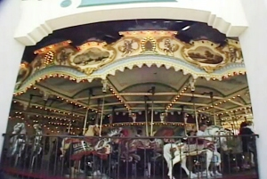 The current carousel house at Elitch Gardens, where the merry-go-round has been in service for more than 80 years.