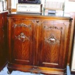 This is a nicely made 1920s era Victrola cabinet.