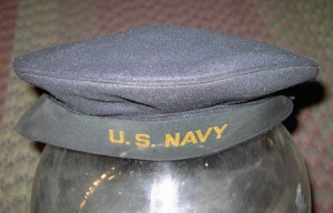 1940s U.S. Navy midshipman hat