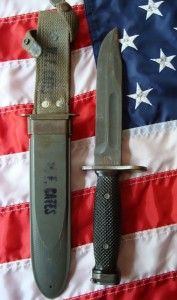 Vietnam War MK2 Conetta bayonet fighting knife