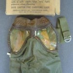 Make sure you utilize the inspection period. Items, such as this WW II face mask for a rocket launcher is very fragile and stiff from sitting in its original box for 60 plus years, and is being sold as-is. If you are not 100-percent confident about the item offered… walk away.
