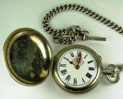 An example of an 1896 Exposition watch made by Georges Frederic Roskopf .