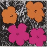"Flowers,"" by Andy Warhol (1964), highlights the Christie's First Open sale of Post-War and Contemporary Art, to be held on Sept. 23, 2009."
