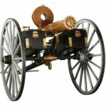 This Gatling gun is expected to bring $150,000-$250,000 at the Civil War, Firearms & Militaria at Fontaine's Auction Gallery the weekend of Aug. 15-16. A second Gatling gun will also be sold that weekend.