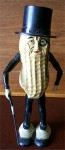 A Planter's Mister Peanut walking doll from the 1950s.