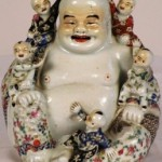 A modern Chinese example of a laughing Buddha.