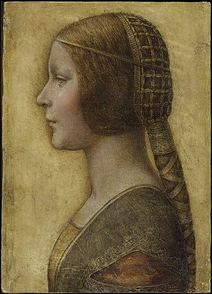 Lost Da Vinci Portrait
