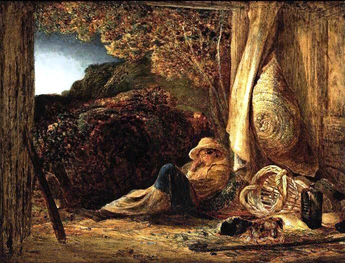 "The Sleeping Shepherd"" by Palmer"