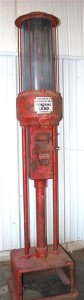 Starkey coin-operated 10-gallon gas pump.