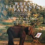 when elephants paint