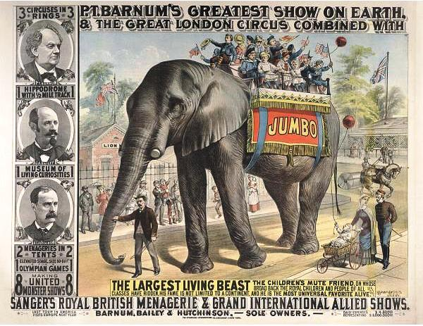 Advertisement for Jumbo