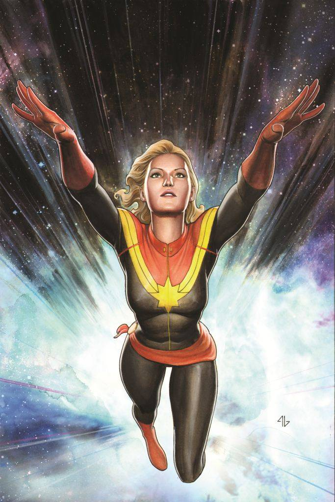 CAPTAIN MARVEL #1 GRANOV VAR