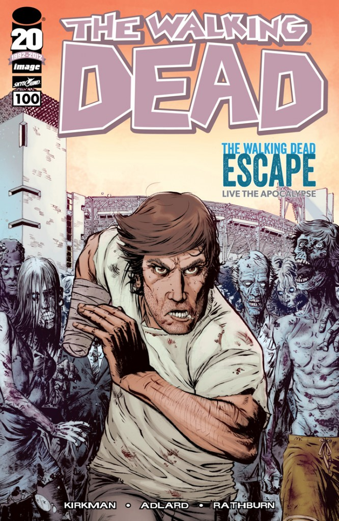 The-Walking-Dead-issue-100-Petco-The-Walking-Dead-Escape-variant-cover-by-Matthew-Roberts-666x1024