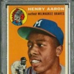 1954 Topps Hank Aaron Rookie $2,000 July-2012