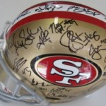 San francisco Team signed Helmet