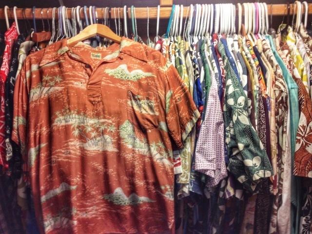Dale Hope's closet houses some 400 aloha shirts today. (Photo: Dale Hope)