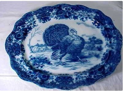 This Ridgeways England platter measures 21 and a half inches across and sold for $1,941 on eBay in 2013.
