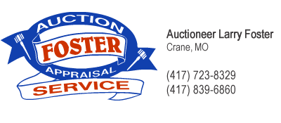 Foster Auction   Appraisal Service