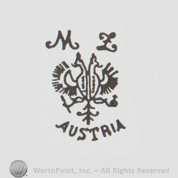Mark of the Week: Moritz Zdekauer Porcelain | WorthPoint