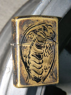 … to Zippo lighters, such as this hand-painted example.