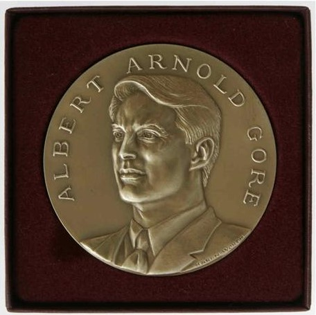 This official Al Gore Inaugural Medal prototype was created prior to George W. Bush being named president is still rather collectible today with an auction value of $1,300 to $1,900.