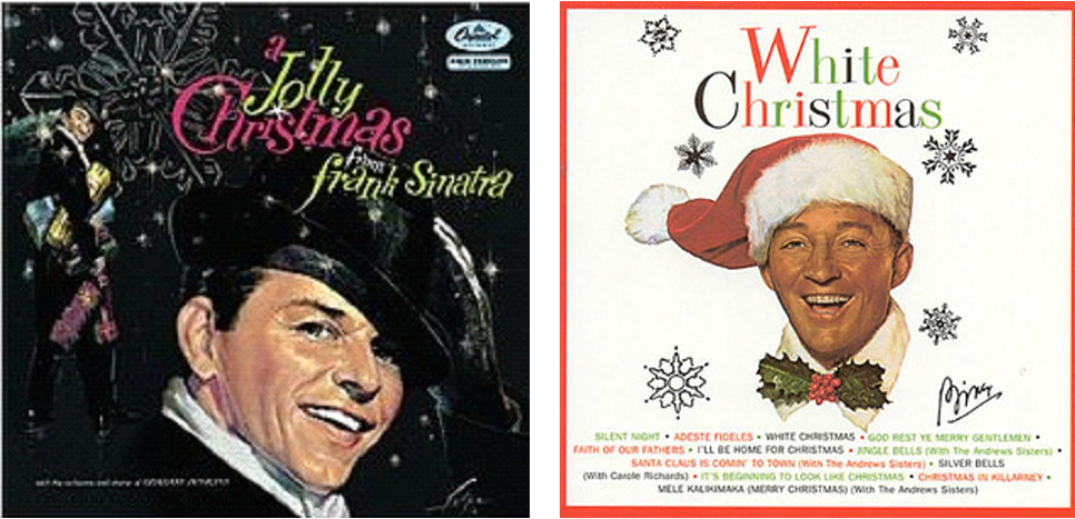 Frank Sinatra: A Jolly Christmas and Bing Crosby's White Christmas