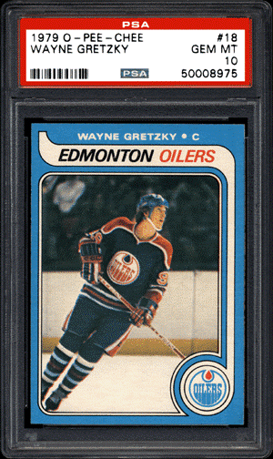 1979 O-Pee-Chee Wayne Gretzky RC - PSA Gem Mint 10: $465,000, Goldin Auctions, August, 2016