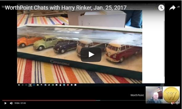 """In this episode of """"WorthPoint Chats with Harry Rinker"""" YouTube channel webcast, Harry explains what to do with a very college collection of miniature collectibles, as well as talks about the death of Mary Tyler Moore and TV collectibles."""