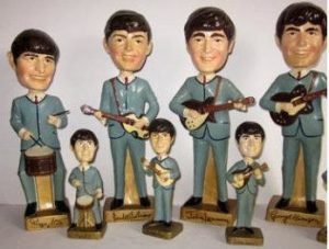beatles bobble heads