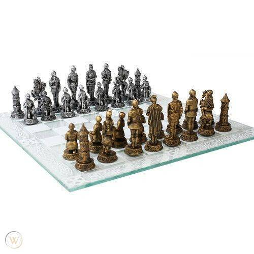 17 medieval knight chess set castle 1 d9a01664637795d8ccc00672e6e6b9bb