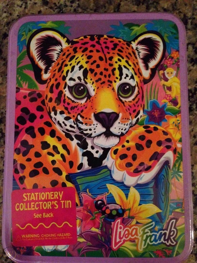 Lisa frank stationery collectors tin 1 a011b9736feb2802c6941d11fe2d1eea