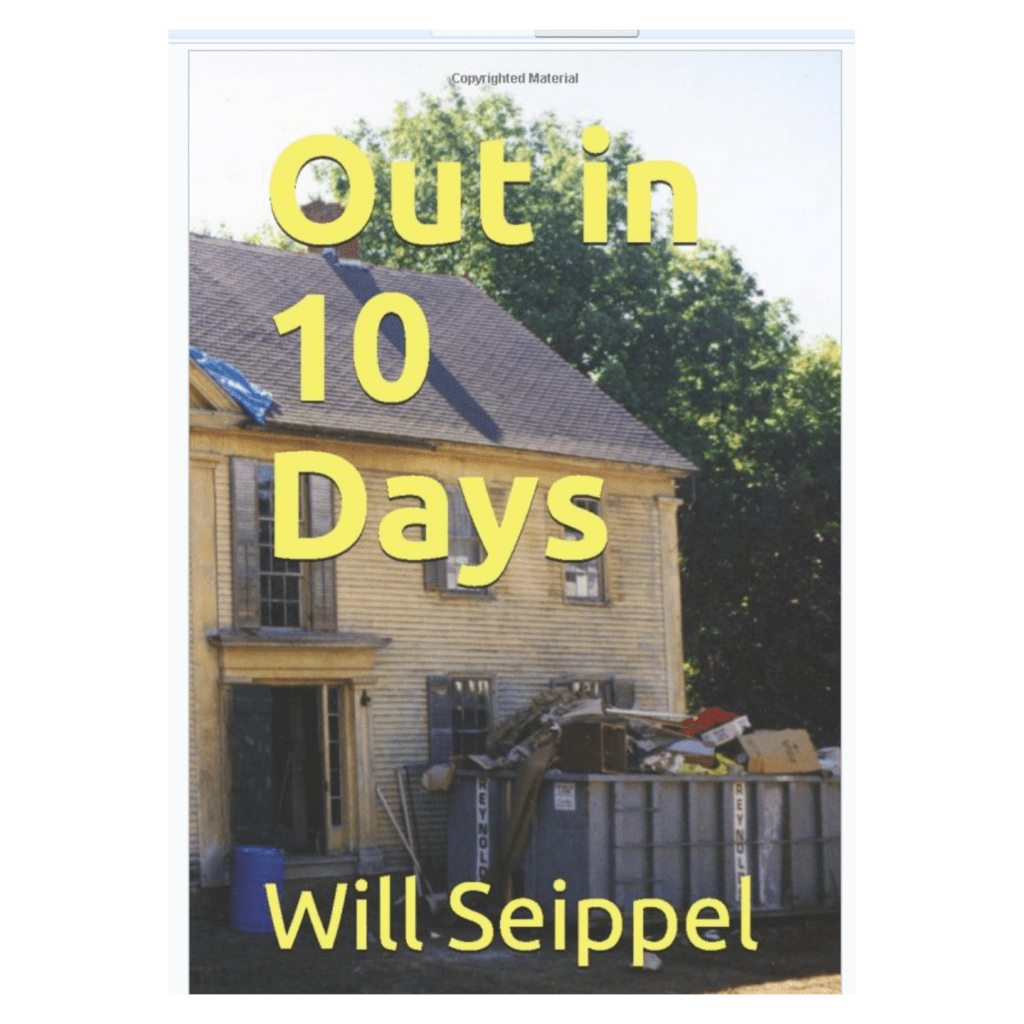 Out in 10 days book cover