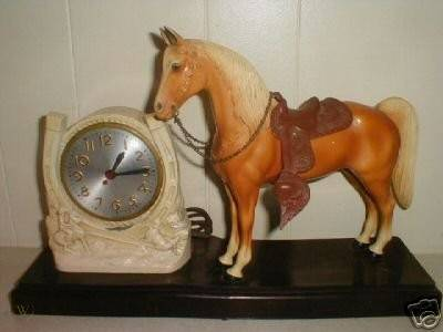 Vintage breyer 50s mastercrafters clock w glossy 1 55bdc15e64025f880bff95218415d37d