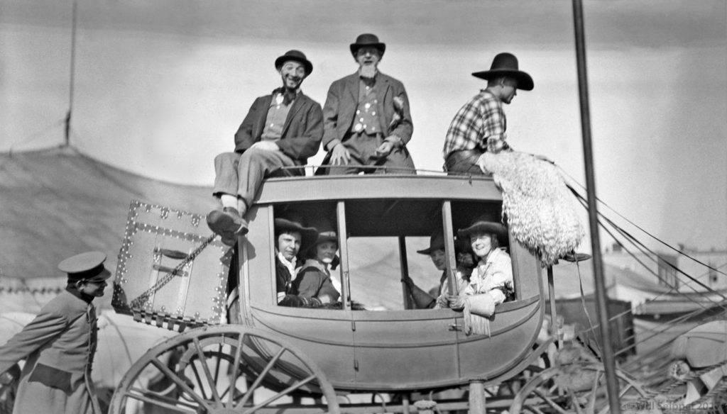 The wild west stagecoach