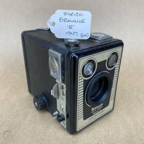 Kodak brownie six 20 1947 vintage box 1 0147028351c012e00c3b003f1c6d290b