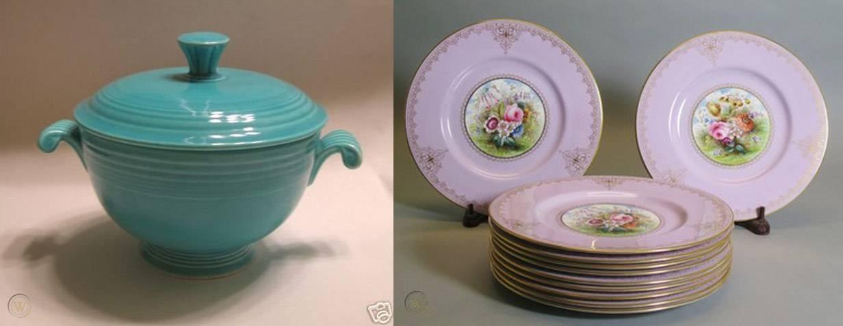Fiestaware vs traditional china