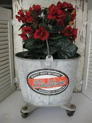 Antique galvanized deluxe mop bucket 1 1353c250ab75de279ec153092fa3c8d9 1