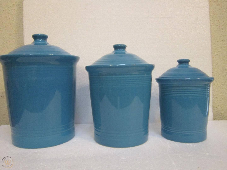 Fiestaware fiesta set canisters crock 1 8ecc5844b6651487acc5849be4259b59