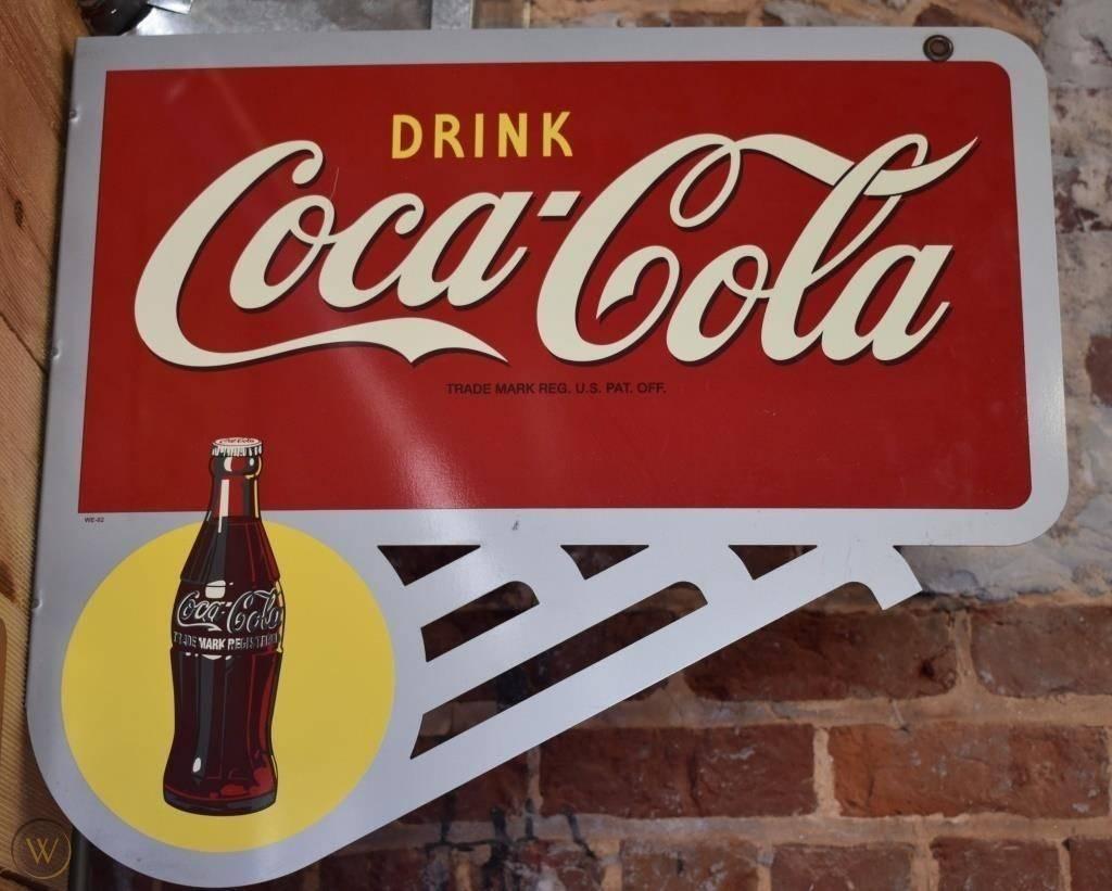 Drink coke cola flange sign 445 2d8ea837242cc058b9b9976a2541e1cd